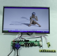 TV/HDMI/VGA/AV/USB/AUDIO LCD controller Board+14inch LTN140AT26 1366*768 lcd
