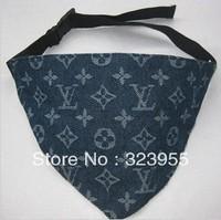 2013 New Style Jeans Pet Neck Tie Dog Neckerchief Pet Accessories Pet Necklace