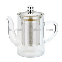 heat-resistant glass tea pot
