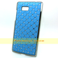 1 Pcs Luxury Diamond Bling Star Hard Back Case For HTC Desire 600 Dual SIM 606W Free Shipping With Tracking Number
