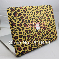 "Free Shipping High Quality Leopard Design Rubberized Matte Hard Case Cover Shell for Macbook Pro 13""/13.3"" A1278"
