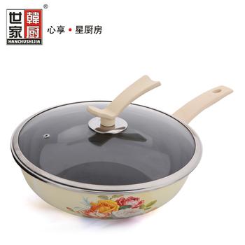 free shipping Wok buzhanguo smoke coating cookware wok 32cm