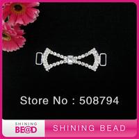 Free shipping+ Hot sale rhinestone bikini connector