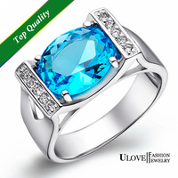 Free shipping best selling 925 sterling silver & AAA zircon & platinum plated female rings finger wedding ring jewelry For Women