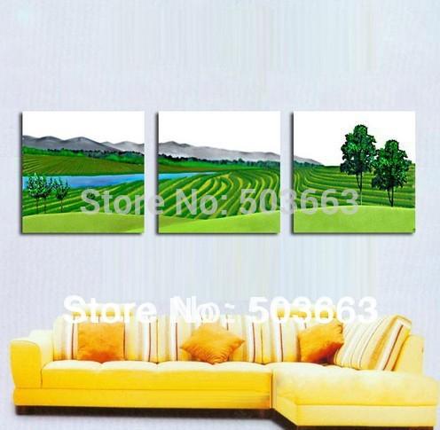 Oriental 30x40x3 Flores pintura a óleo da arte abstracta da parede da casa Deco Canvas S- 533D(China (Mainland))