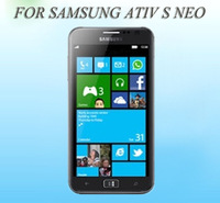 for samsung ATIV S Neo Anti-scratch clear Screen Protector Guard Protective flim