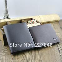 2013 Free Shipping Men Long Fashion Designer Soft Canvas Wallet Purse Handbags Men's Gift Wholesale