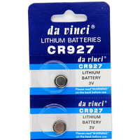 100pcs CR927 DL927 LM927 ECR927 Lithium 3V Button Cell Batteries / for Calculator Etc. The Coin Small Battery