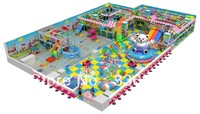 Multifunctional combination big indoor playground factory direct sale