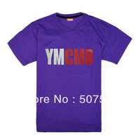 Wholesale - free shipping 2013 summer t shirt MENS HIPSTER YMCMB T-shirts S-XXXL  100% cotton