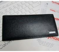 2014 Brand male long design 100% cowhide wallets men's cowhide wallets purse card holder hot selling
