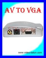 Free shippingCCTV VGA TO BNC(AV) Adapter Converter