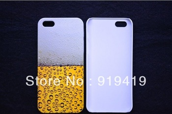 Free shipping mobile accessories NEW DESIGN  cell phone case cover pouch decoration for IPONE 5   AC075