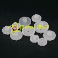3packs/lot 10pcs/pack Crown package  Gear  Gear box Plastic Toy DIY Technology Free shipping