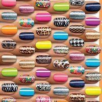 Luminous finger nail art sticker nail  polish oil full finger applique false nail patch free shipping