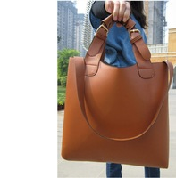 Free/ drop shipping ZXF01  PU Leather  2013 fashion handbag and women's casual bags and tote bags