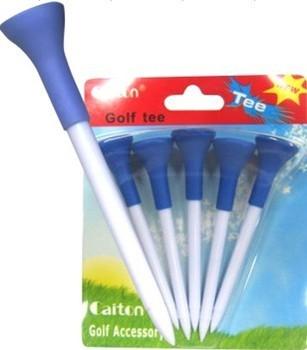Golf ball soft cover ball tee long tee golf supplies