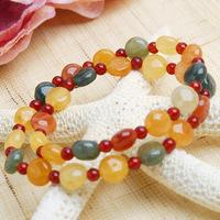 Natural Crystal double beaded bracelet form bracelet quality