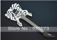A customized OEM electric guitar /Skull special-shaped electric guitar/Pure manual sculpture guitar special personality