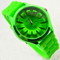 New Hot Selling Fashion Silicone Watch Gift  Factory Direct Wholesale ,Free Shipping