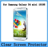 10X New CLEAR LCD i9192 i9195 i9290 Screen Protector Guard Cover Film For Samsung GALAXY S4 MINI i9190 i9192 i9195 Free shipping