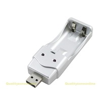 USB Charger for NiMH AA / AAA Rechargeable Battery #QbO