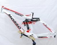 2013 mosso - 668fr fr2 aluminum connecting rod shock frame soft tail frame belt suspension
