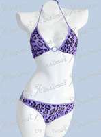 Free Shipping 2013 High Quality Swimwear Women Leopard