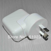 50PCS/LOT OEM Real 2.1A 10W AU plug Wall Charger Power Adapter For New Apple iPad-Mini 4 3 2 white
