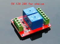 New 12V low level trigger 2 Channel Relay Module interface Board Double Sided free shipping