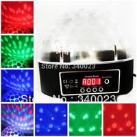 Free Shipping Hot New Crystal Magic Ball Laser Stage Light F Party Disco DJ Bar Lighting Show, DJ Ball