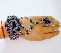 Black nobility alloy bracelet , 2013 hot-sale products,Free shipping.