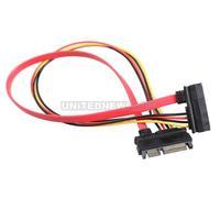 UN2F 22 Pin Male to Female 7+15 pin 5 Wire SATA Data Power Combo Extension Cable