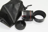 85mm f1.8 Medium Telephoto portrait Lens for Canon 60d 6d 5diii 7d 650d 600d 50d camera