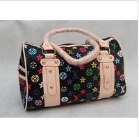 Free shipping 2013 New Fashion Handbags Korean Hobo PU  Leather Handbag Shoulder Bag