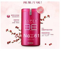 2013 Super BB Cream Sunscreen Skin Whitening Concealer Natural Color SPF15 PA 40g Free Ship