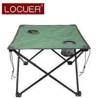 Outdoor camping portable canvas folding table casual outdoor table picnic table bbq table FREE SHIPPING