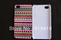2013 NEW  Aztec Pattern hard white case cover for iphone 4 4G 4S +free shipping   AB038