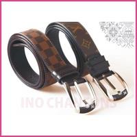 2013 Fashion design Men's 100% Genuine Leather leather belt Black & Men's The best gift (GD3029)