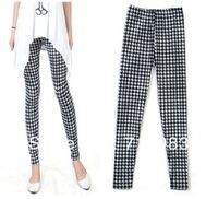 New style fashion Milk silk graffiti pencil leggings Spring Autumn Winter silk women's leggings pants size S M L XL