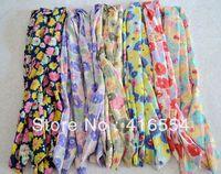 flowers  Headbands Rabbit bunny ears headbands 40pcs/lot free shipping small butterfly knot 7 mixed color