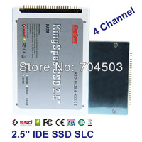 "Free shipping Kingspec 2.5"" ssd ide 44PIN SLC 16gb 4-Channel 2.5"" Solid State Disk for Notebook, CE,FCC,RoHS Warranty 3years"