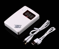 Section 7 electric 4 18650 mobile power supply box rechargeable lithium battery does not contain battery free shipping
