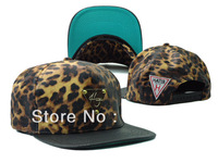 HOT SALE New Arrival Leapord Hater Snapback Baseball Caps With Basketball High Quality Free shipping Mix Order Wholesale/Retail