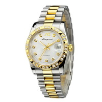 Monyoung gold fully-automatic mechanical watch original movement waterproof mens watch