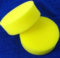 Free Shipping (12pieces/lot) Waxing Polish Wax Foam Sponge Applicator Pads For Clean Car Vehicle Glass
