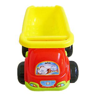 Baby sand toy sand shovel Large beach toy set 6 piece set child beach toy car(China (Mainland))