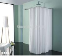 Stainless steel shower curtain rod U shape shower curtain pole easily assemble SCP-U