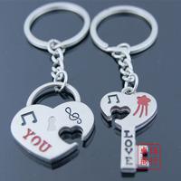 Love rabbit lovers keychain key chain keychain