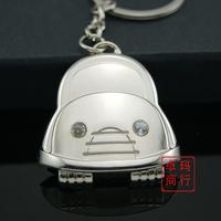 Cartoon car logo keychain gift keychain